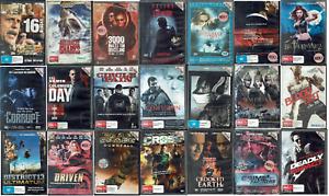 Ex Rental DVD Action Movies Lot 2 - Region 4