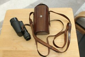 CARL ZEISS JENA 8x40 MONOCULAR AND LEATHER CASE.