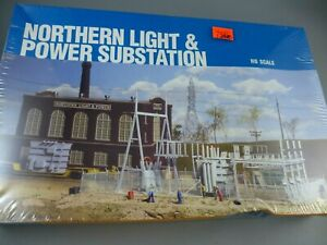 HO Cornerstone Northern Light & Power Station Sealed Box 933-3025