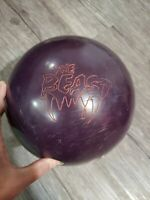 Columbia 300 The Beast 14.8 Pound Bowling Ball Blue Used Orange Dot