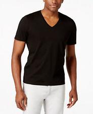 Dolce & Gabbana T-shirt V-Ausschnitt D&G NEU SCHWARZ € 100 RRP slim fit M