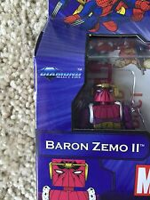 Marvel Minimates Series 50 Baron Zemo II CHEAP Worldwide Shipping