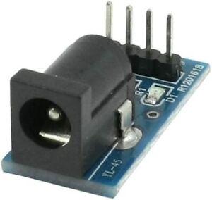 DC Power Jack with DIP Adapter Barrel-Type Socket Breakout Board DC Power Supply