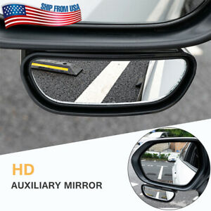 Blind Spot Mirror Wide Angle HD Adjustable Glass for Driver Side SUV Truck Car