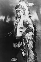 6 Sizes! New Photo Chief Three Horses Unknown Native American Indian Tribe