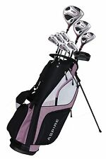 NEW Aspire XD1 Ladies Womens Right Handed Golf Club Set - PETITE SIZE - PINK