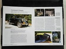 1932 Hudson Coupe - 4 Page Article - Free Shipping