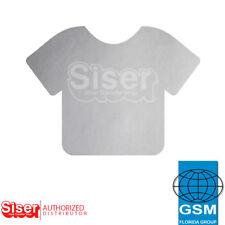"SISER HTV EasyWeed Heat Transfer Vinyl 12"" x 10 yards (2 ROLLS) SILVER"