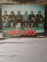 Chester Bennington Autograph Linkin Park Band Signed Hit Parader Magazine