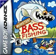 Monster Bass Fishing - Game Boy Advance Gba Sp DS