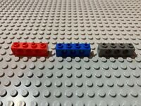 Lego 1x6 Technic Brick with Holes Black Gray Red White Yellow YOU CHOOSE
