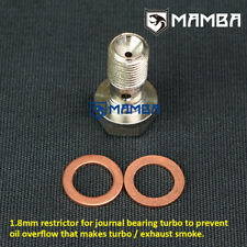 MAMBA Turbo Oil Feed Banjo Bolt For Lancia Lybra JTD GT1544H / Prevent Smoke
