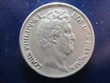 FRANCIA LOUIS PHILIPPE I 5 FRANCS 1831 B ROUEN CANTO INCUSO - TRANCHE EN CREUX