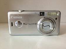 Canon PowerShot A400 3.2MP Digital Camera - Silver for parts / not working