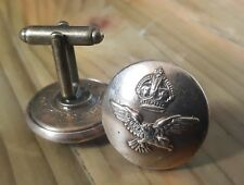 Genuine WW2- military buttonhole pin / cufflinks: RAF - Battle of Britain