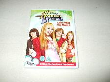 Hannah Montana - Lifes what you make it - DVD R2 TV 2008 - Miley Cyrus - Family