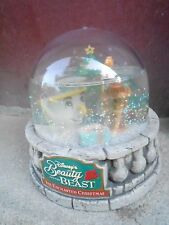 "(Nbs4) 3"" Mib Disney Beauty And The Beast Globe (Snow Dome) by Ocean Spray #1"