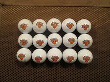 LOGO GOLF BALLS-(15) NBA....NEW YORK KNICKS...............NEW!!!