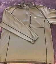 Champion Long Sleeve Running Shirt Gray Xl Great Condition