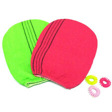 Korean Italy Exfoliating Body-Scrub Glove Towel Green Re YC