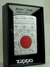 LUCKY STRIKE ZIPPO LIGHTER ARMOR CASE BULLS EYE TARGET DESIGN