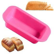 Silicone Baking Cake Pan Bread Molds Square Round Tray Pie Pizza Chic~ nxc F7H9