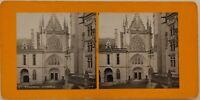Château Da Pierrefonds La Cappella Francia Foto Stereo Analogica c1900