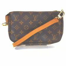 Louis Vuitton bolso de mano Pochette Accesorios M51980 Browns Monograma 705687