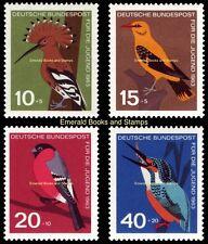 EBS Germany 1963 Youth - Jugend - Birds - Vögel Michel 401-404 MNH**
