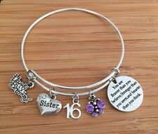 Personalised BIRTHDAY Gifts Bracelet 15th 16th 18th 21st 30th - Gift for Her ~~