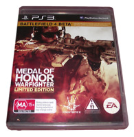 Medal Of Honor Warfighter Limited Edition Sony PS3