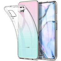 For Huawei P40 Lite P30 Pro Ultra thin Clear Soft Silicone Phone Back Case Cover