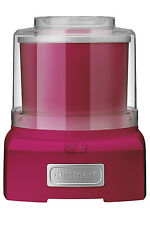 NEW Cuisinart Ice Cream Maker: Candy Apple Pink: ICE-21CAXA