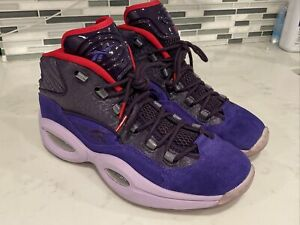 Reebok Question Ghost of Christmas Past Future 11.5 11 1/2 Iverson Shoes V61429