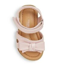 Toddler girl Genuine Kids® Morgs Double Strap Slide Sandals With Bow - Pink sz 2