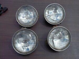 "ORIGINAL GM FRONT HEADLIGHT HEAD LIGHT LAMP 5 3/4"" BUCKET TRIM RING SET A B C D"