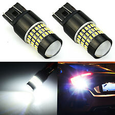 JDM ASTAR 2x 78-SMD 7443 7440 White LED Turn Signal Backup Reverse Lights Bulbs