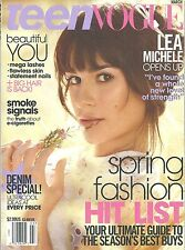 TEEN VOGUE March 2014 Lea Michele Spring Fashion Hit List English Monthly