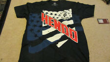 Dan Henderson Hendo Strikeforce St. Louis Walkout Blue T-shirt New Small S