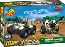 COBI - Small Army Vehicle ~ ATV with Cannon 100 Piece Block Set #NEW