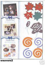 Creative Memories 3 TTY Layered Die Cut Kits NLA
