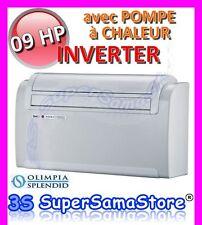 3S UNICO 09 HP INVERTER OLIMPIA SPLENDID MONOBLOC climatiseur réversible CHAUD
