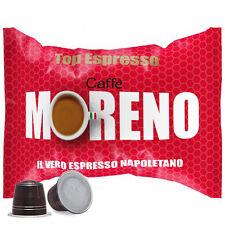 100 CAPSULE CAFFE' MORENO MISCELA TOP ESPRESSO NESPRESSO OR