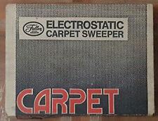 Vintage Fuller Brush Electrostatic Carpet Sweeper