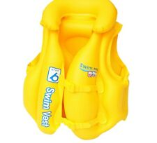BESTWAY SWIM SAFE PREMIUM SUMMER BEACH SWIM VEST STEP B CHILD KID FOR 3-6 YEARS