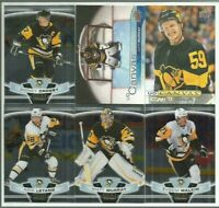 Sidney Crosby Pittsburgh Penguins 14 Hockey Card Lot! Murray, Guentzel, Malkin +
