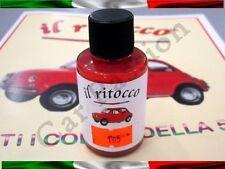 VERNICE RITOCCO SMALTO FIAT 500 CINQUECENTO D'EPOCA ROSSO CORALLO COD 165 30ml