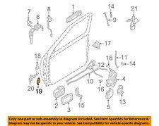 NISSAN OEM 98-04 Frontier-Door Hinge-Lower Left 804213S500