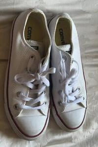 converse size 4 White Ladies Children's