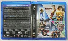 DC 7-Film Collection (Blu-Ray, 9-Disc Set) FREE Shipping Superman Batman Shazam